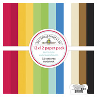 Doodlebug Designs - Bar-B-Cute Collection - Textured Cardstock Assortment Pack