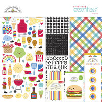 Doodlebug Design - Bar-B-Cute Collection - Essentials Kit