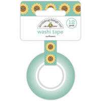 Doodlebug Design - Pumpkin Spice Collection - Washi Tape - Sunflowers
