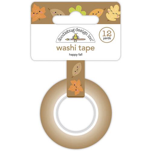 Doodlebug Design - Pumpkin Spice Collection - Washi Tape - Happy Fall