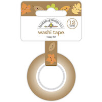 Doodlebug Design - Pumpkin Spice Collection - Washi Tape - Happy Fall