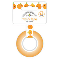 Doodlebug Design - Ghost Town Collection - Washi Tape - Hey Pumpkin