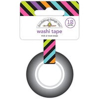 Doodlebug Design - Ghost Town Collection - Washi Tape - Trick or Treat Stripe