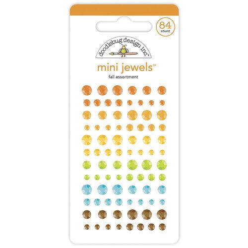 Doodlebug Design - Pumpkin Spice Collection - Mini Jewels - Fall