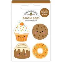 Doodlebug Design - Pumpkin Spice Collection - Doodle-Pops - Fall Treats