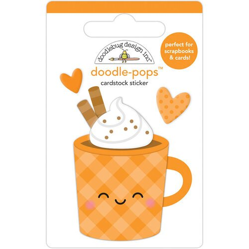Doodlebug Design - Pumpkin Spice Collection - Doodle-Pops - Pumpkin Spice