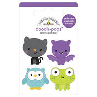 Doodlebug Design - Ghost Town Collection - Doodle-Pops - Boo Crew
