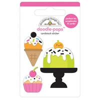 Doodlebug Design - Ghost Town Collection - Doodle-Pops - Cake and I-Scream