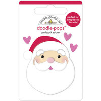 Doodlebug Design - Night Before Christmas Collection - Doodle-Pops - I love Santa