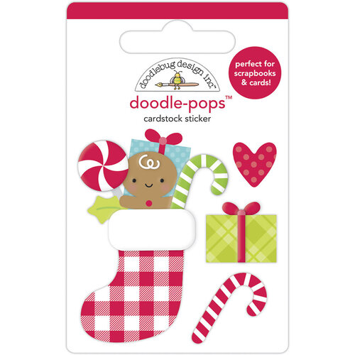 Doodlebug Design - Night Before Christmas Collection - Doodle-Pops - Stocking Stuffers
