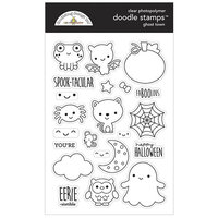 Doodlebug Design - Ghost Town Collection - Clear Photopolymer Stamps - Ghost Town