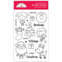 Doodlebug Design - Night Before Christmas Collection - Clear Photopolymer Stamps - Night Before Christmas