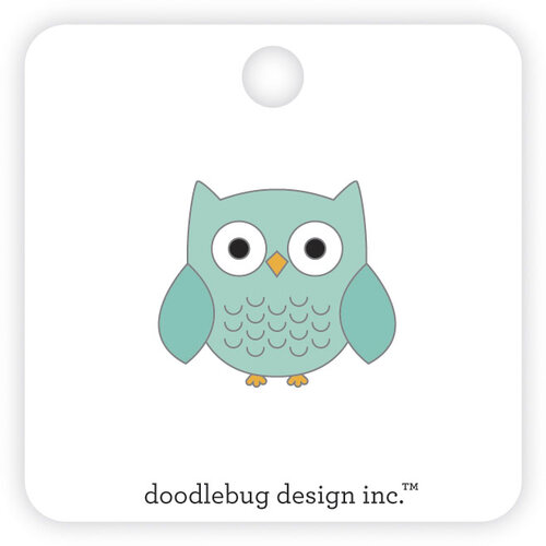 Doodlebug Design - Pumpkin Spice Collection - Collectable Pins - Owlbert