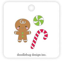 Doodlebug Design - Night Before Christmas Collection - Collectable Pins - Sugarplums