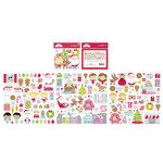 Doodlebug Design - Night Before Christmas Collection - Odds and Ends - Die-Cut Cardstock Pieces