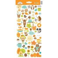 Doodlebug Design - Pumpkin Spice Collection - Cardstock Stickers - Icons