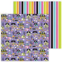 Doodlebug Design - Ghost Town Collection - 12 x 12 Double Sided Paper - Ghost Town