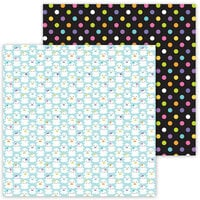 Doodlebug Design - Ghost Town Collection - 12 x 12 Double Sided Paper - Good Spirits