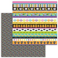Doodlebug Design - Ghost Town Collection - 12 x 12 Double Sided Paper - Star Bright