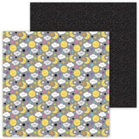 Doodlebug Design - Ghost Town Collection - 12 x 12 Double Sided Paper - Moonlight Magic
