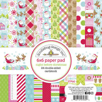 Doodlebug Design - Night Before Christmas Collection - 6 x 6 Paper Pad