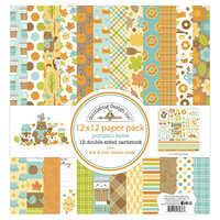 Doodlebug Design - Pumpkin Spice Collection - 12 x 12 Paper Pack