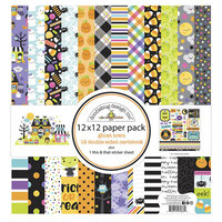 Doodlebug Design - Ghost Town Collection - 12 x 12 Paper Pack