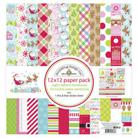 Doodlebug Design - Night Before Christmas Collection - 12 x 12 Paper Pack