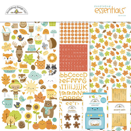Doodlebug Design - Pumpkin Spice Collection - Essentials Kit