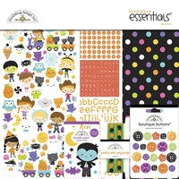 Doodlebug Design - Ghost Town Collection - Essentials Kit