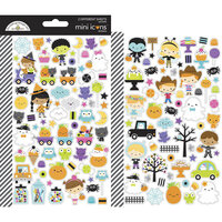 Doodlebug Design - Ghost Town Collection - Cardstock Stickers - Mini Icons