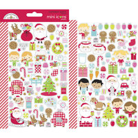 Doodlebug Design - Night Before Christmas Collection - Mini Icons