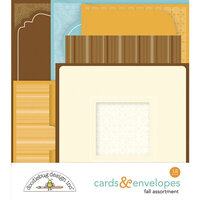 Doodlebug Design - Pumpkin Spice Collection - Cards and Envelopes