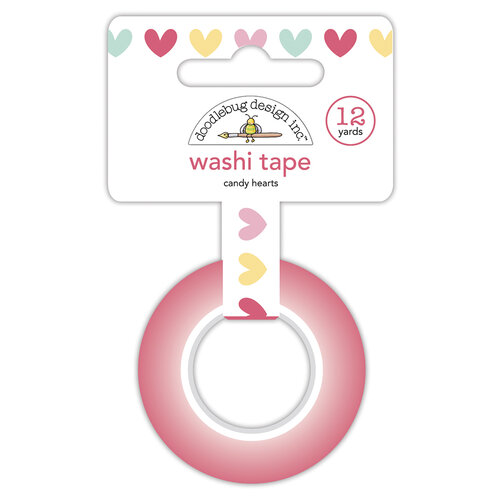 Doodlebug Design - Made With Love Collection - Washi Tape - Candy Hearts