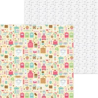 Doodlebug Design - Made With Love Collection - 12 x 12 Double Sided Paper - Made With Love