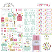 Doodlebug Design - Made With Love Collection - Essentials Kit
