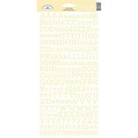 Doodlebug Design - Alphabet Cardstock Stickers - My Type - Bumblebee