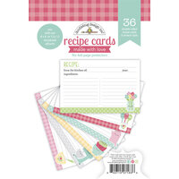 Doodlebug Design - Made With Love Collection - Recipe Cards