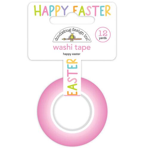 Doodlebug Design - Hippity Hoppity Collection - Washi Tape - Happy Easter