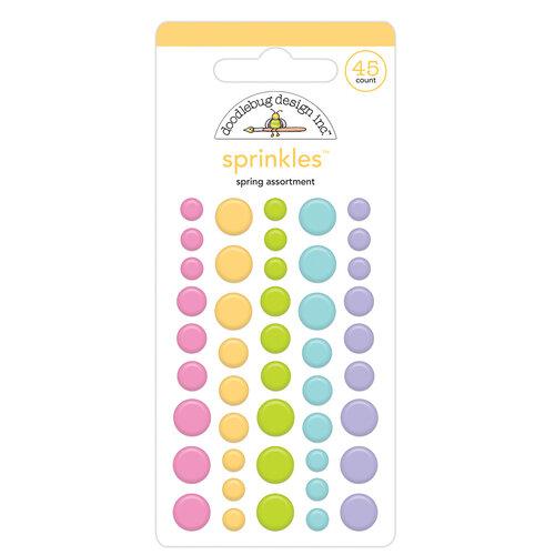 Doodlebug Design - Hippity Hoppity Collection - Sprinkles - Spring Assortment