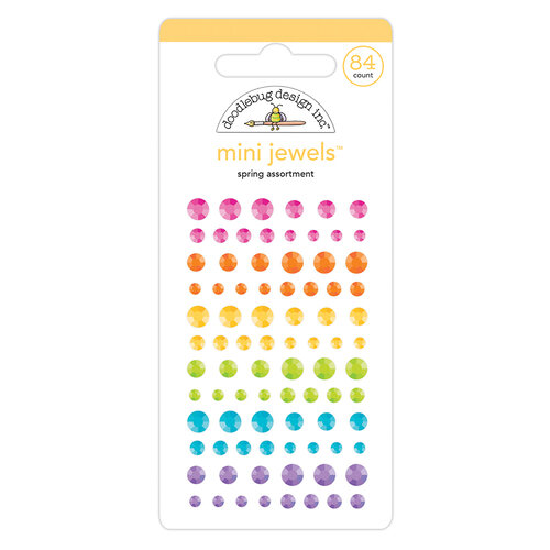 Doodlebug Design - Hippity Hoppity Collection - Mini Jewels - Spring Assortment