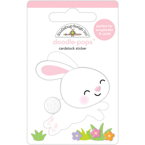 Doodlebug Design - Hippity Hoppity Collection - Doodle-Pops - 3 Dimensional Stickers - Hippity Hoppity