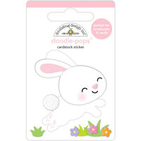 Doodlebug Design - Hippity Hoppity Collection - Doodle-Pops - 3 Dimensional Stickers - Hippity Hoppity