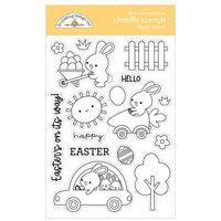 Doodlebug Design - Hippity Hoppity Collection - Clear Photopolymer Stamps - Hippity Hoppity