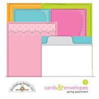 Doodlebug Design - Cards And Envelopes - Spring Assortment