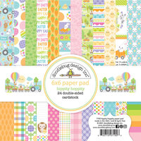 Doodlebug Design - Hippity Hoppity Collection - 6 x 6 Paper Pad