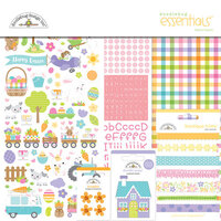 Doodlebug Design - Hippity Hoppity Collection - Essentials Kit