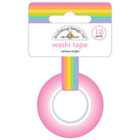 Doodlebug Design - Fairy Garden Collection - Washi Tape - Rainbow Bright