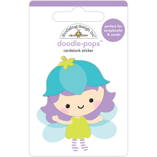 Doodlebug Design - Fairy Garden Collection - Doodle-Pops - 3 Dimensional Stickers - Blossom