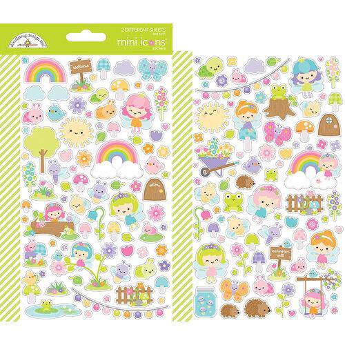Doodlebug Design - Fairy Garden Collection - Mini Icon Stickers